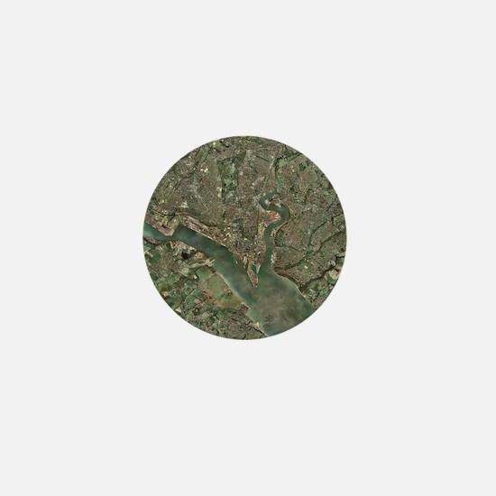 Southampton, UK, aerial photograph - Mini Button