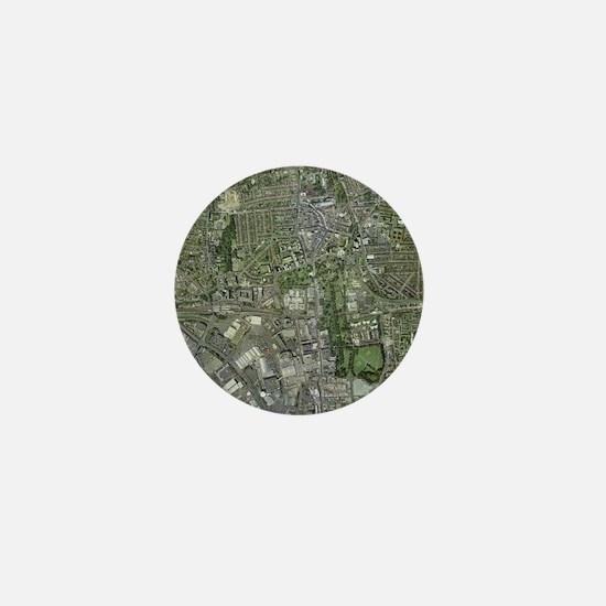 Southampton,UK, aerial image - Mini Button