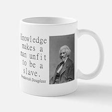 Knowledge Makes A Man Mugs