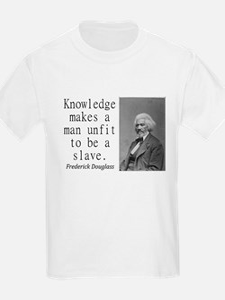 Knowledge Makes A Man T-Shirt