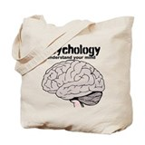 Psychology Canvas Totes