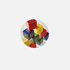 Alphabet toys - Mini Button
