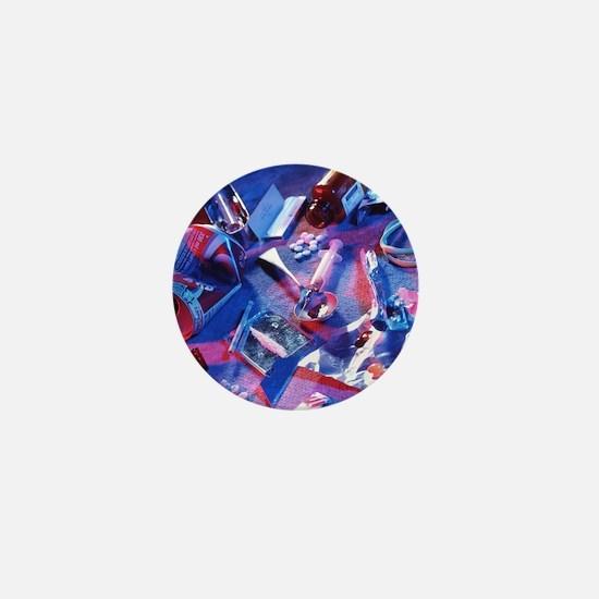 Drug abuse - Mini Button