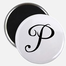 "A Yummy Apology Monogram P 2.25"" Magnet (100 pack)"