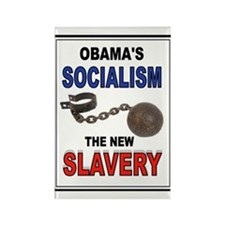 OBAMA SLAVERY Rectangle Magnet