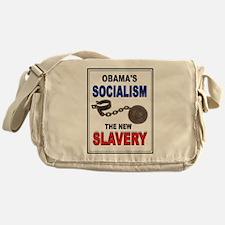 OBAMA SLAVERY Messenger Bag