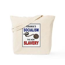 OBAMA SLAVERY Tote Bag