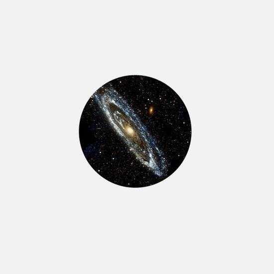 Andromeda Galaxy, UV image - Mini Button
