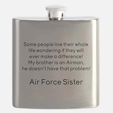 AF Sister No Prob Bro Flask