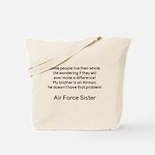 AF Sister No Prob Bro Tote Bag