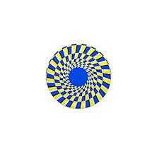 Peripheral drift illusion - Mini Button