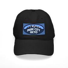 Park City Blue Baseball Hat
