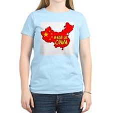 Made in China Women's Pink T-Shirt