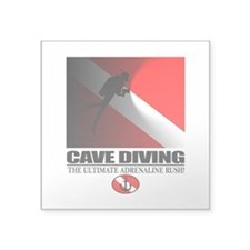 Cave Diving Sticker