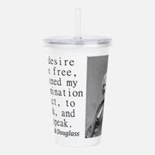 The Desire To Be Free Acrylic Double-wall Tumbler