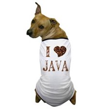 I (heart) JAVA Dog T-Shirt