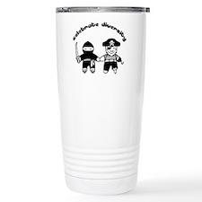 Cute Celebrate diversity Travel Mug