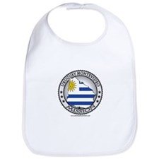 Uruguay Montevideo LDS Mission Flag Cutout Map 1 B