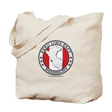 Peru Lima East LDS Mission Flag Cutout Map 1 Tote