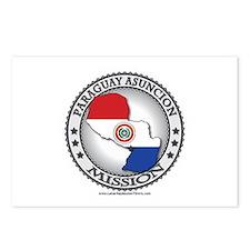 Paraguay Asuncion LDS Mission Flag Cutout Map 1 Po