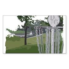 Lapeer Disc Golf Decal