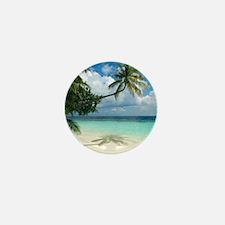 Tropical beach - Mini Button (10 pk)