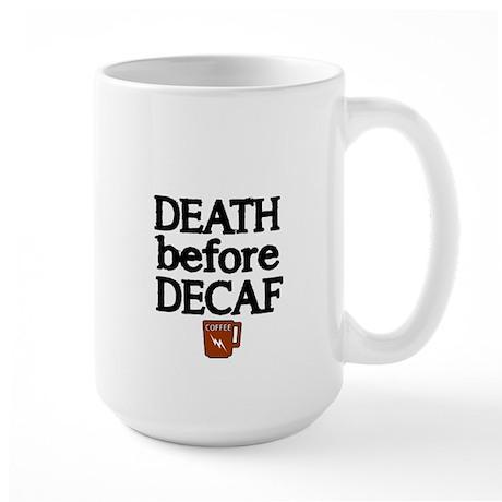 Death before Decaf 2 Mug