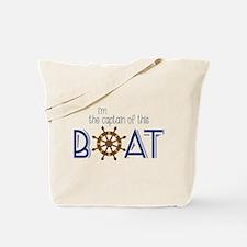 I'm The Captain Tote Bag