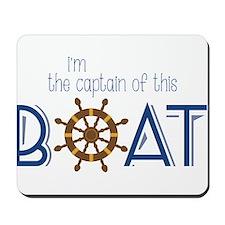 I'm The Captain Mousepad