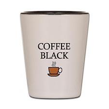 COFFEE BLACK Shot Glass