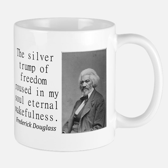 The Silver Trump Of Freedom Mugs