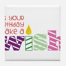 It's Your Birthday! Tile Coaster