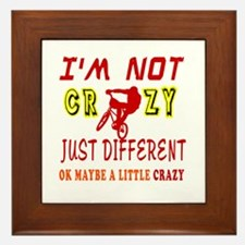 I'm not Crazy just different Mountain Biking Frame