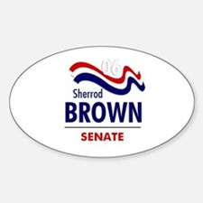 Brown 06 Oval Bumper Stickers