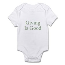 Giving Is Good Infant Bodysuit