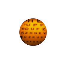 ye test chart - Mini Button (100 pk)