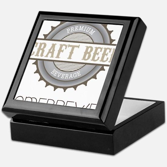 Home Brewer Keepsake Box