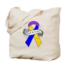 Bladder Cancer Find A Cure Tote Bag