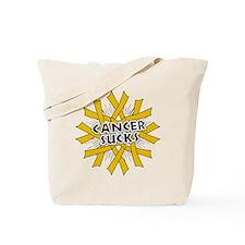Appendix Cancer Sucks Tote Bag