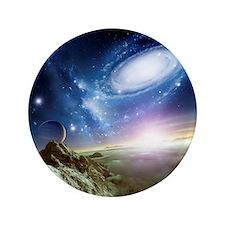 Colliding galaxies, artwork - 3.5