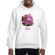 Liz: Purple Flower Hoodie