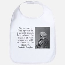 To Suppress Free Speech Baby Bib