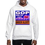 Amber Alert Oust The Liars! Hooded Sweatshirt