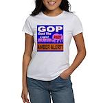 Amber Alert Oust The Liars! Women's T-Shirt