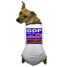 Amber Alert Oust The Liars! Dog T-Shirt