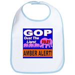 Amber Alert Oust The Liars! Bib