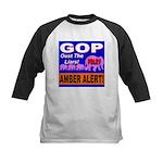 Amber Alert Oust The Liars! Kids Baseball Jersey