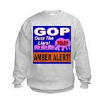 Amber Alert Oust The Liars! Kids Sweatshirt