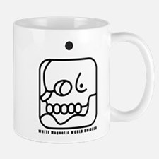 WHITE Magnetic WORLD BRIDGER Mug