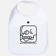 WHITE Magnetic WORLD BRIDGER Bib